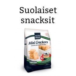 Suolaiset snacksit