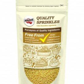 QS Ingredients Nonparelli - helmiäiskeltainen
