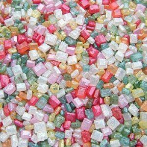 QS Ingredients Helmiäishohtoinen sokerikristalli värimix