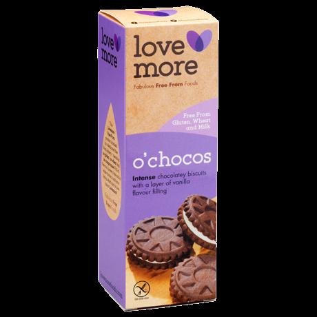 Lovemore, Vaniljatäytteinen suklaakeksi