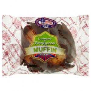 American Muffin sitruuna-unikonsiemenmuffinssi