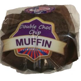 Herkullinen tuplasuklaa muffinssi