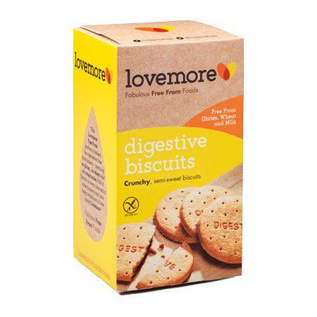 Lovemore gluteeniton digestiivikeksi